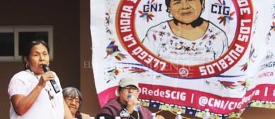 Ningún presidencial trae a los pueblos indígenas en sus agendas: Marichuy