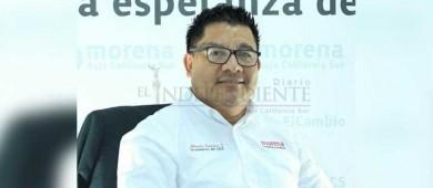 Ernesto Ibarra no irá con Morena para Los Cabos: Renteria Santana