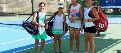 Exitoso Torneo Regional de Tenis en San José del Cabo: Iliana