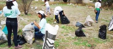 """Hasta 6 toneladas de basura han levantado durante las campañas """"Limpiemos Nuestro México"""""""