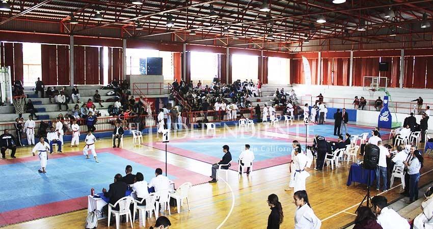 Arrancó la Olimpiada Estatal 2018 con la disciplina de Karate
