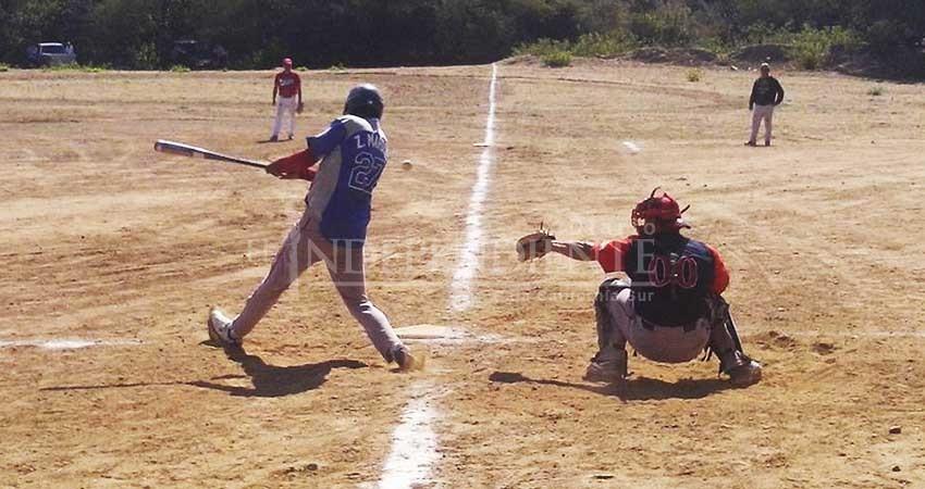 Inauguran con 8 equipos la Liga Rural del Triunfo