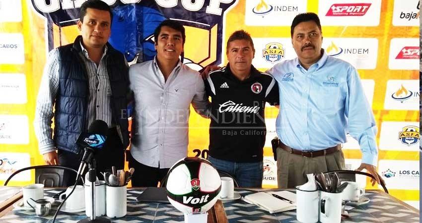 Presentan en La Paz, la Copa Cabo Cup 2018