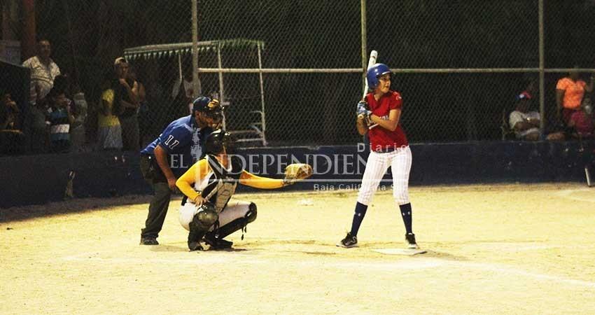 Inicia el Softbol en la Olimpiada Estatal