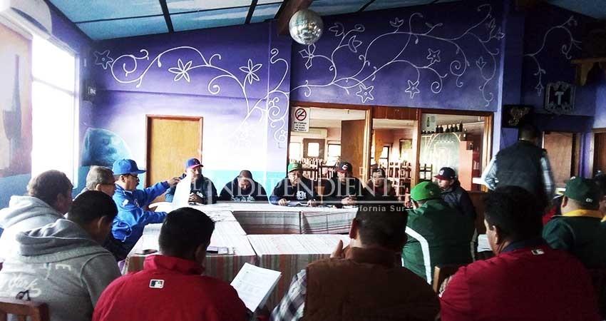 11 de Marzo, arranca la Primera Fuerza de Béisbol de Mulegé