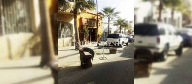 Invita secretario a dialogar a comerciantes afectados por las obras del centro