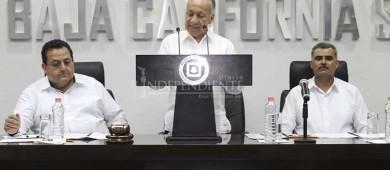 Rinde magistrado presidente del TSJE informe de actividades del último año