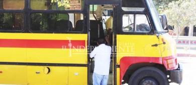 Se mantendrán fijas las tarifas del transporte hasta el mes de julio