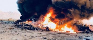 """Incendio arrasa con al menos 70 vehículos chatarra en un """"yonke"""""""