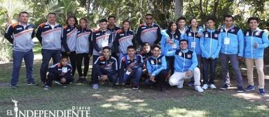 Entran en accion atletas de luchas y tkd en el regional