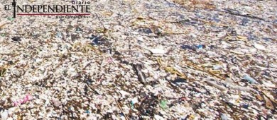 'Isla de plástico' del Pacífico, casi tan grande como México