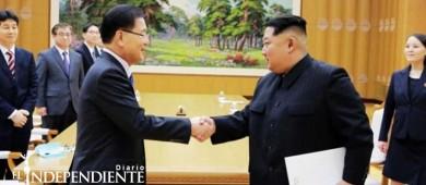 Norcorea acepta diálogo intercoreano la semana próxima