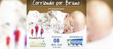 Ciclovía Recreativa se une a la ayuda al pequeño Bruno Lara