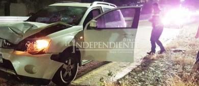 Joven sufre lesiones graves al ser atropellado en el corredor turístico entre San José del Cabo y Cabo San Lucas