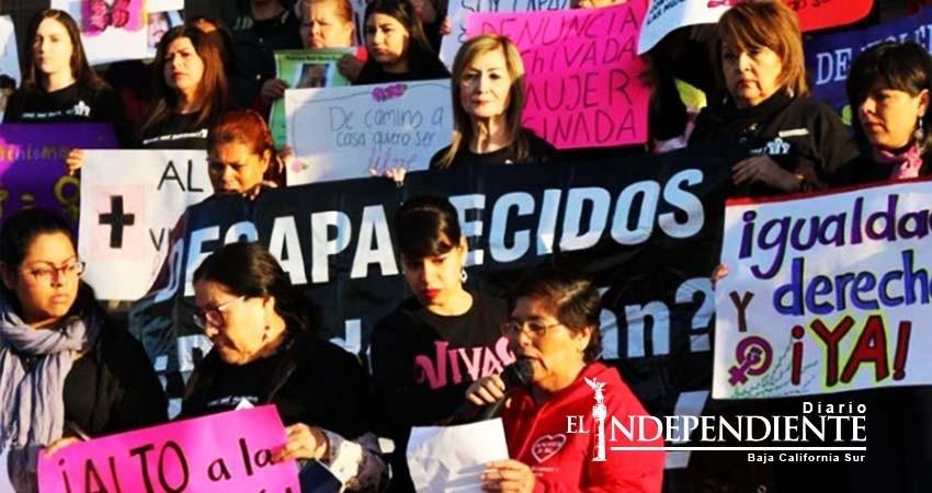 Mujeres exigen seguridad e igualdad en Monterrey