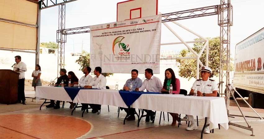 Realiza Cecyte XX Concurso de Arte y Cultura en el municipio de Los Cabos