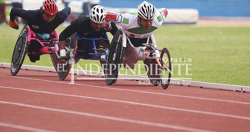 Serán 15 atletas en silla de ruedas quienes representen a BCS en los juegos de Querétaro