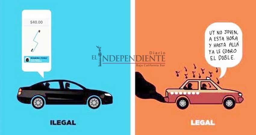 Estallan redes sociales contra taxistas