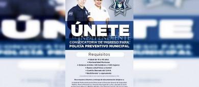 Abren convocatoria de ingreso para la policía municipal de La Paz