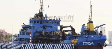 Advierten ambientalistas de riesgos a la salud por dragado en la bahía de La Paz