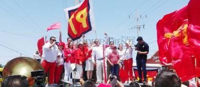 Ibarra Montoya se registra como candidato del PT a la alcaldía de Los Cabos
