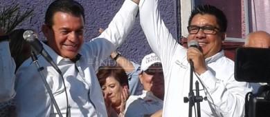 Rubén Muñoz se registra como candidato a la presidencia de La Paz por Morena