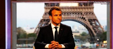 Macron: Francia no ha declarado la guerra a Siria