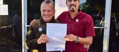 Buscará Adán Ruffo ser presidente municipal de La Paz por segunda vez