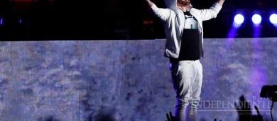 Eminem arrasa en Coachella, con Dr. Dre y 50 Cent