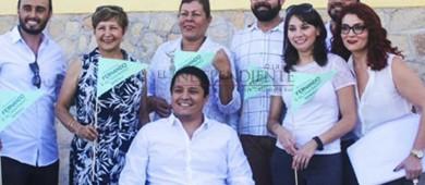 Se registra el único candidato independiente por el Distrito I, Fernando Altamirano
