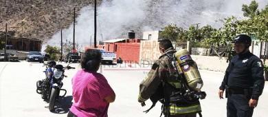 Piden ayuda comunitaria para damnificados por incendio en Loma Obrera
