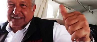 Vocero de AMLO: volveremos a usar taxi aéreo de ser necesario