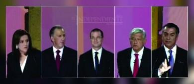 Elecciones 2018: resumen del primer debate presidencial