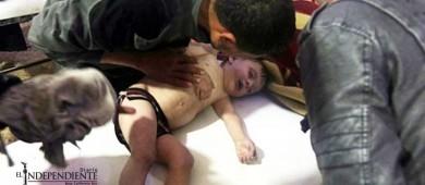 Expertos recogen muestras de supuesto ataque químico en Siria
