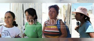 """""""No olviden la canalización del cauce del arroyo"""", piden vecinos del vado de Santa Rosa a candidatos"""