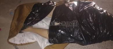 Dentro de una bolsa negra dejaron a un hombre sin vida en La Paz