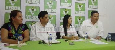 Presenta PVEM planilla oficial de candidatos que contenderán el 1 de julio en Los Cabos