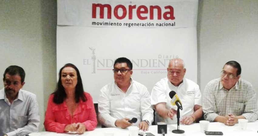 Encuentro Social, PT y Morena presentan sus candidatos federales en Morelia