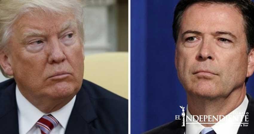 Comey compara a Trump con un jefe de la mafia