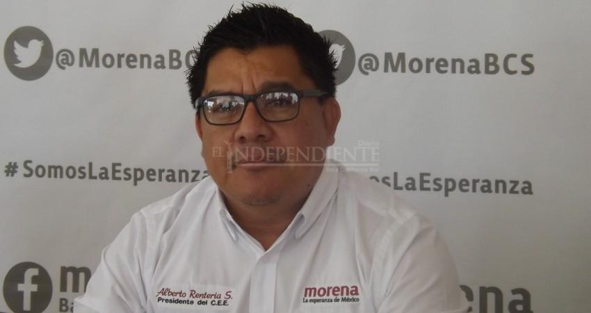 El proyecto por el cual llegué a MORENA es más importante que una presidencia municipal: Alberto Rentería