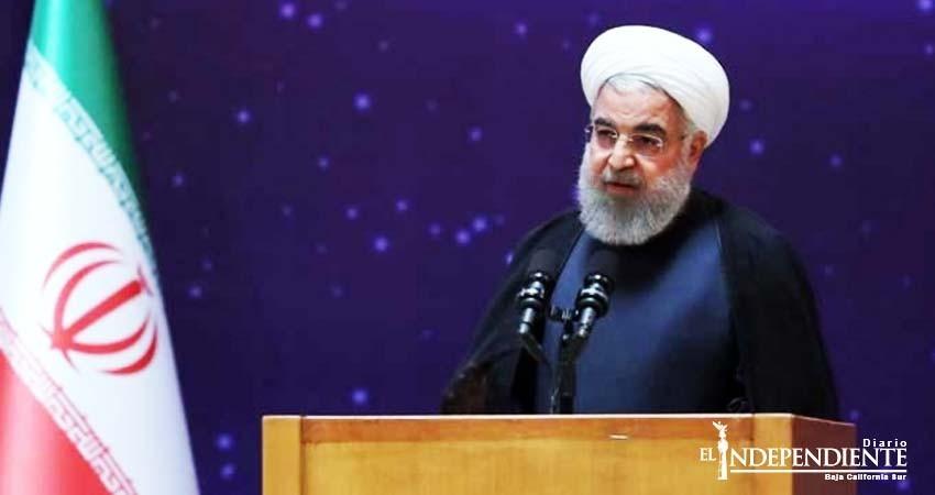 Irán amenaza con consecuencias 'desagradables' si EU se retira de acuerdo nuclear