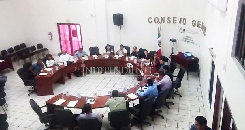 Aprueba IEEBCS sustituciones en Consejos Municipal y Distrital