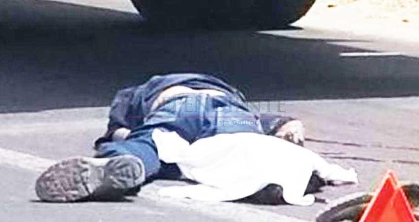 Tras momentos de agonía, muere en el hospital hombre que fue atropellado en la colonia Santa Rosa