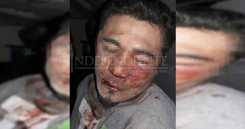 Vecinos de colonia Chulavista en CSL tunden a golpes a presunto asaltante