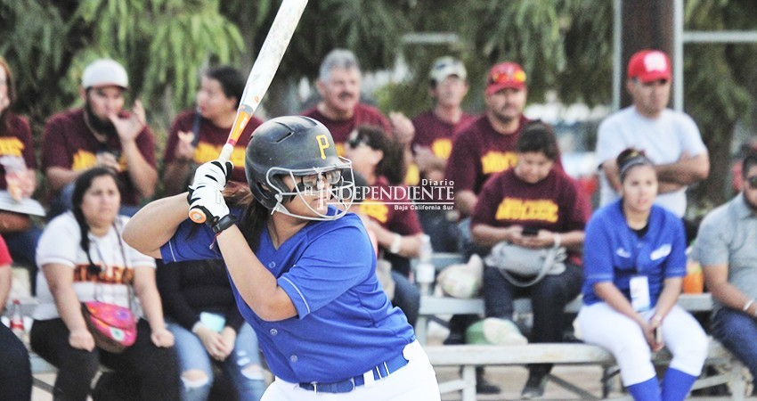 Se corona Interpaz de La Paz en softbol estatal femenil