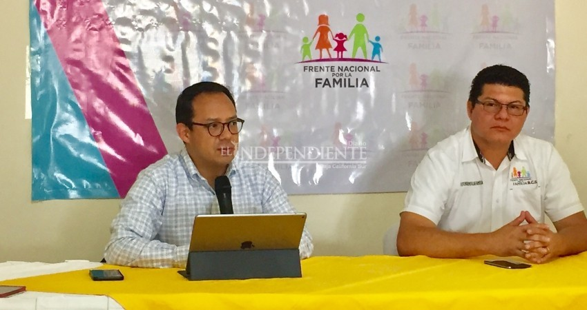 Apoyará 'Frente por la Familia' a candidatos que defiendan la vida