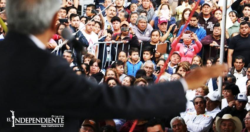 AMLO: Nadie detendrá el anhelo de millones de mexicanos por un cambio