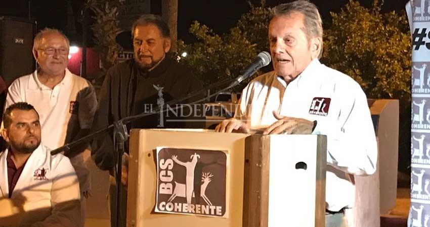 Arranca campaña electoral de Adán Ruffo por la alcaldía de La Paz