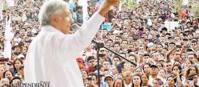 López Obrador ofrece generar empleos locales