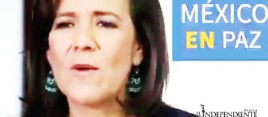 Margarita Zavala lamenta ola de asesinatos